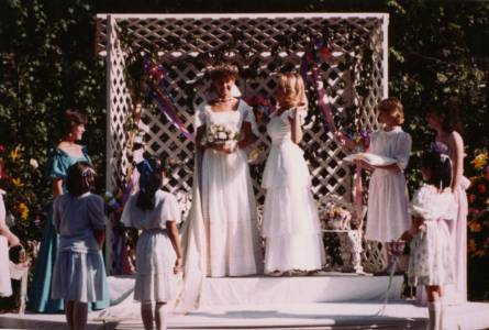 May Day Queen and Court, 1986