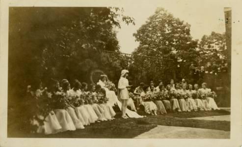 May Court, ca. 1935