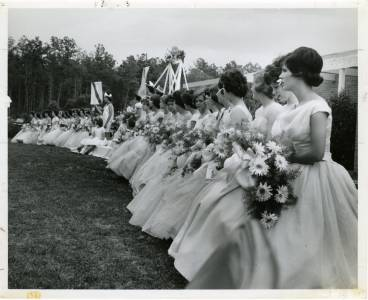 May Day Court, ca. 1962