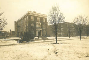 1619 Monument Avenue in the 1920s