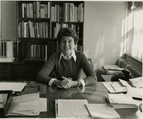 Mrs. Williams At Her Desk