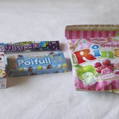 Candy Japan, first shipment
