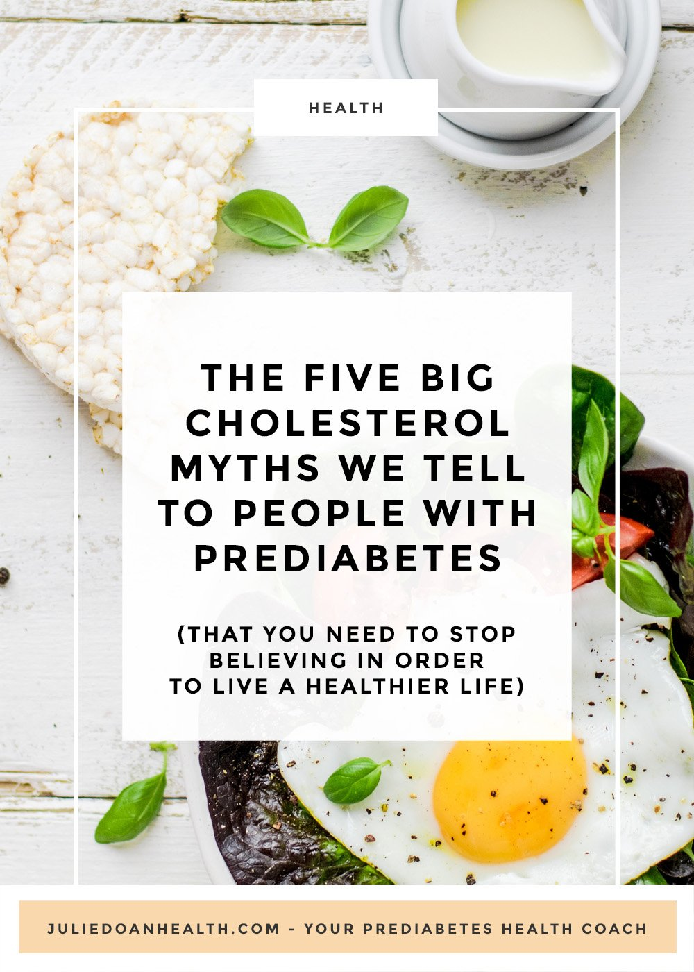 cholesterol myths prediabetes