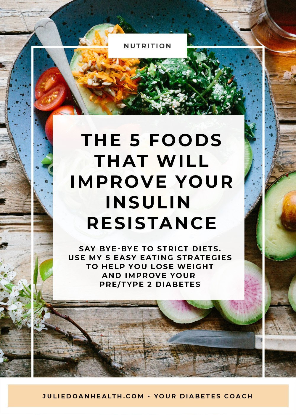 5 foods to eat insulin resistance