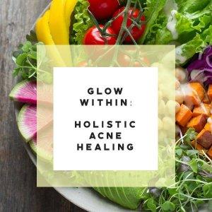 holistic acne healing