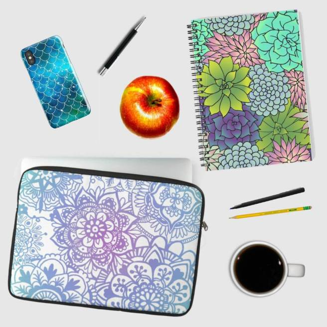 laptop sleeve cell phone case notebooks julie erin designs