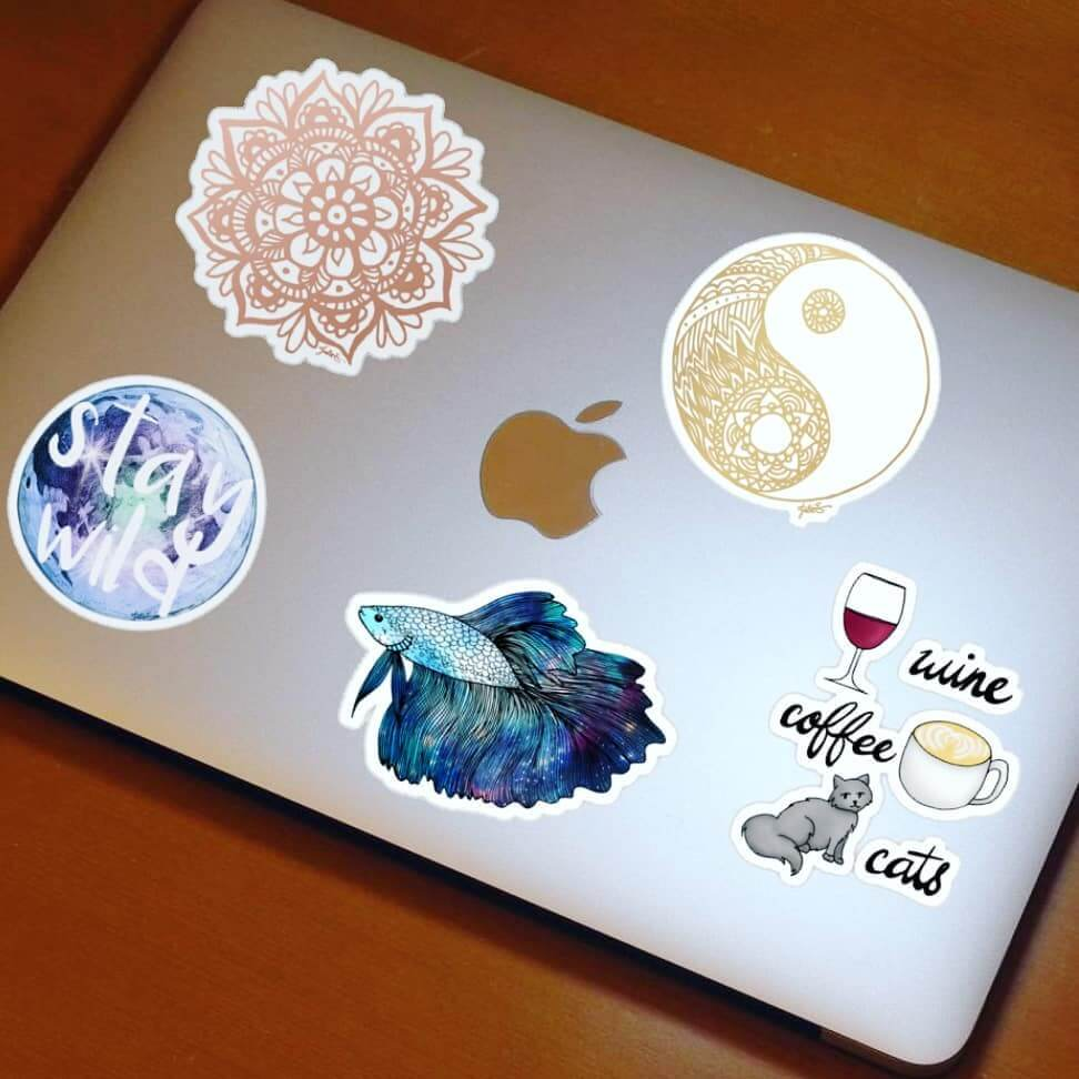 redbubble stickers