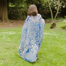 blue gold mandala scarf4