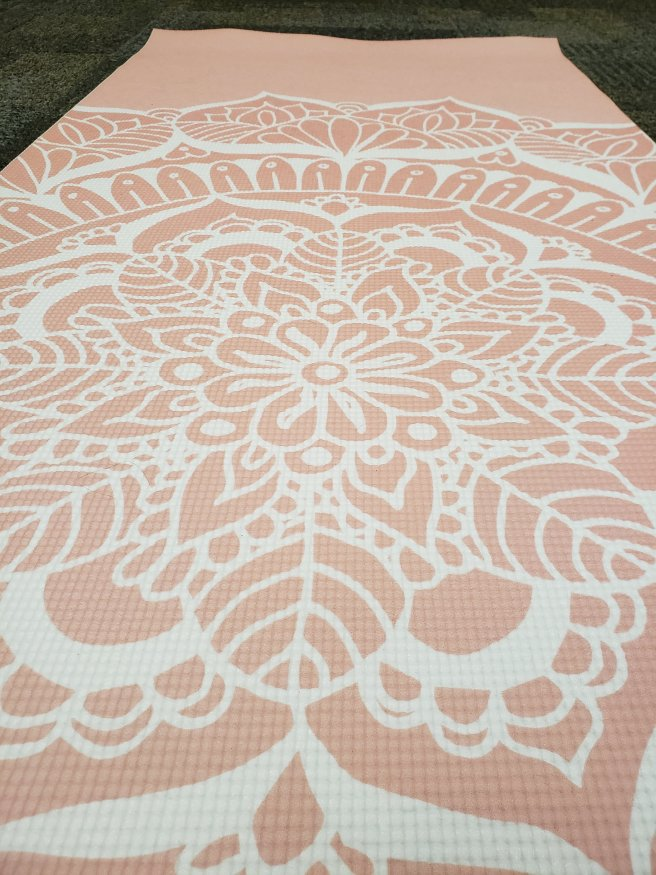 society6 yoga mat close up