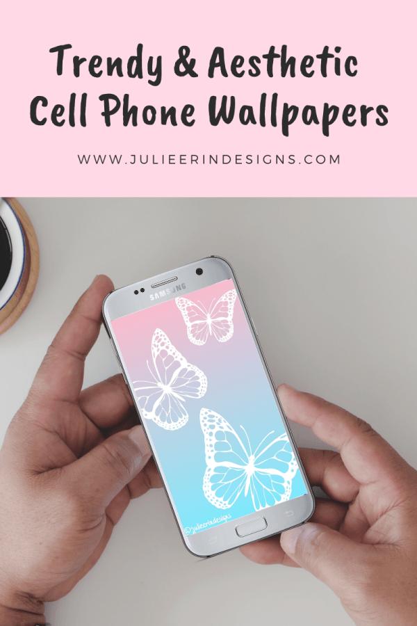 trendy aesthetic phone wallpaper
