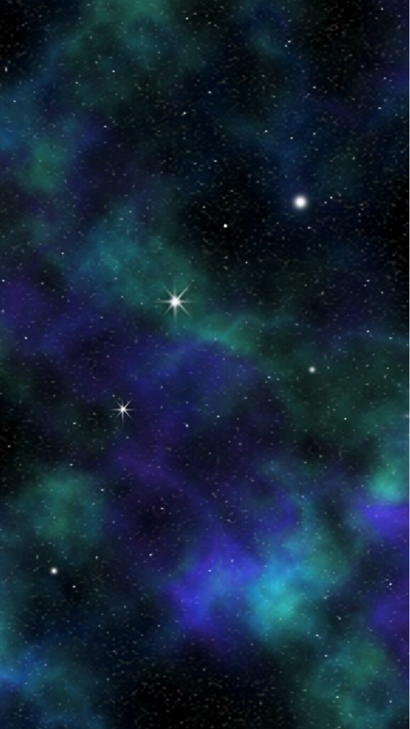 blue galaxy mobile phone wallpaper