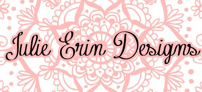 julie erin designs blog header