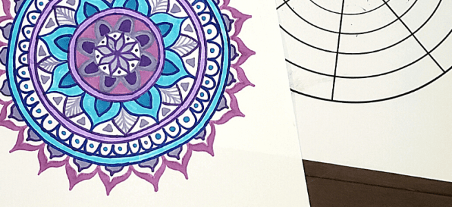 mandala drawing templates