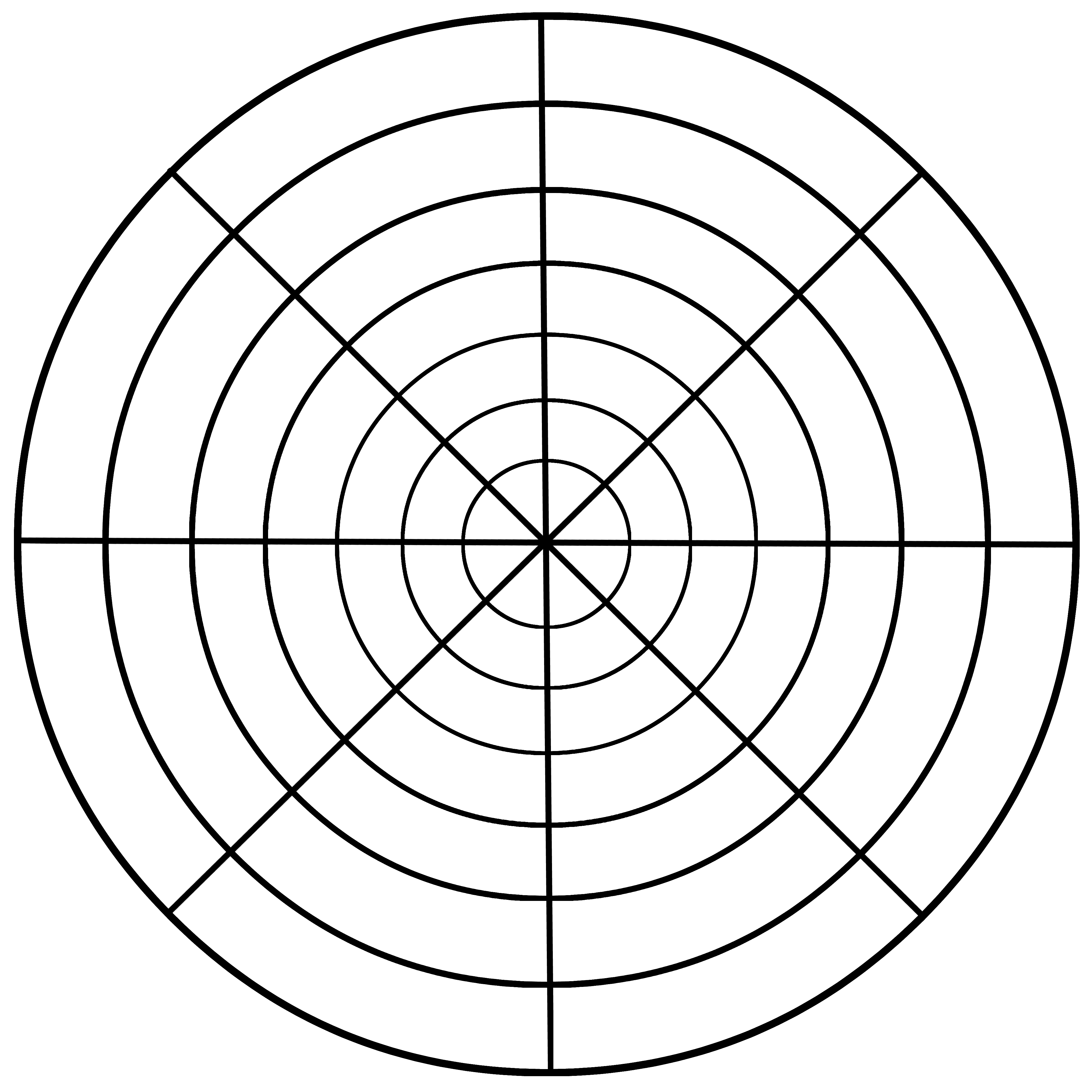 Mandala Drawing Templates