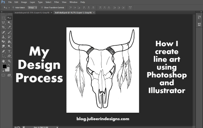 cleaning up line art in photoshop illustrator