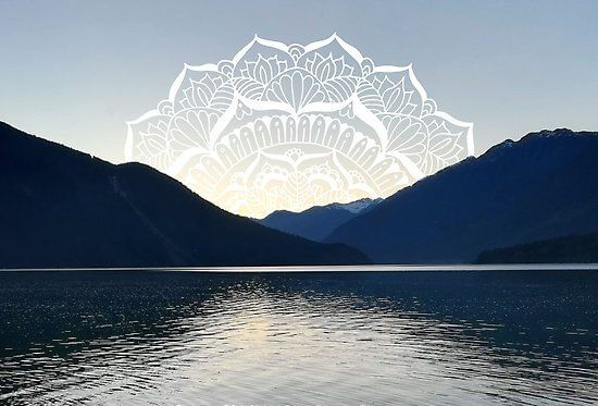 mountain mandala ocean british columbia