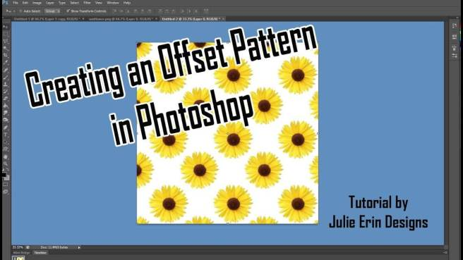offset pattern photoshop tutorial