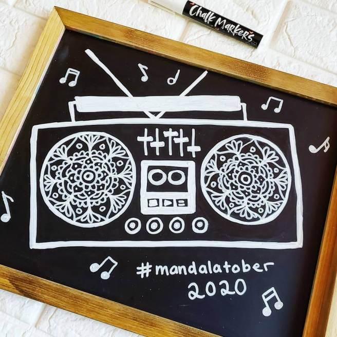 radio mandala for mandalatober