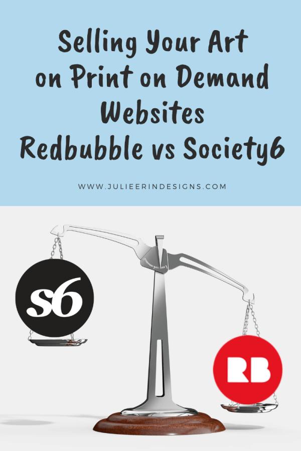 redbubble vs society6