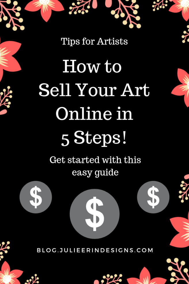 5 steps to sell your art online
