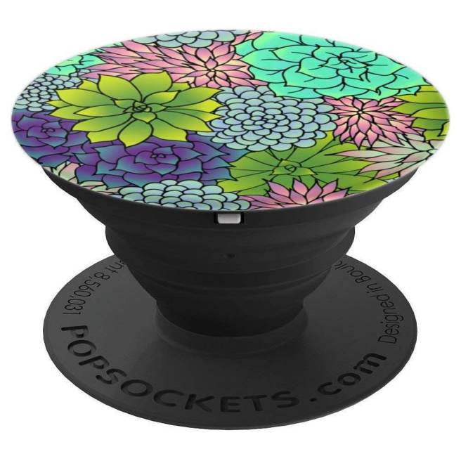 succulents flowers garden popsockets iphone