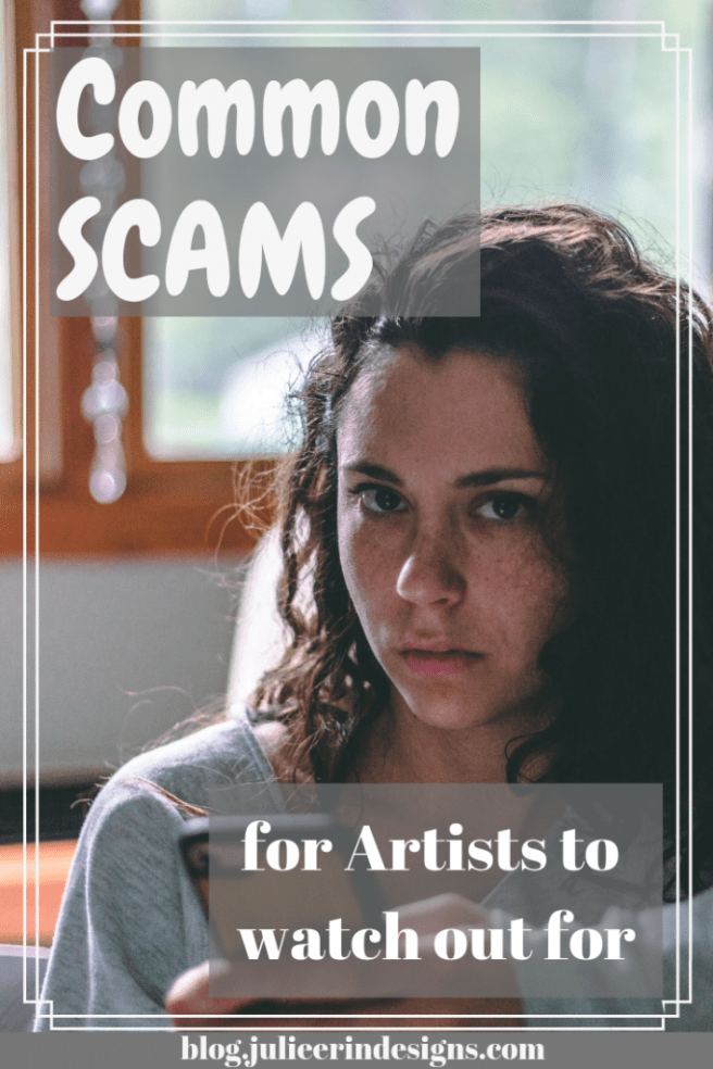 scams for artists to watch out for