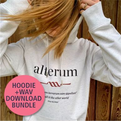 alterum Organic Hoodie + WAV Downloads Bundle