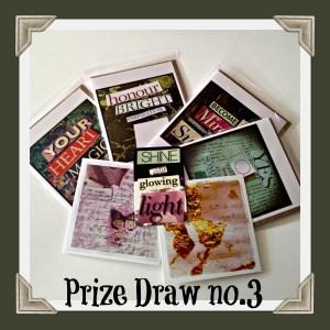 Notecard Prize