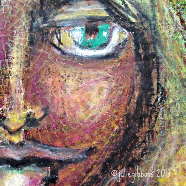 goddess face detail