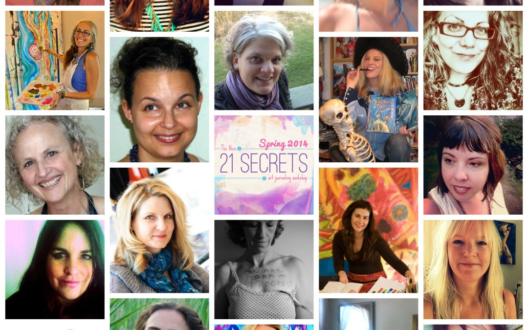 21 SECRETS Spring Collage