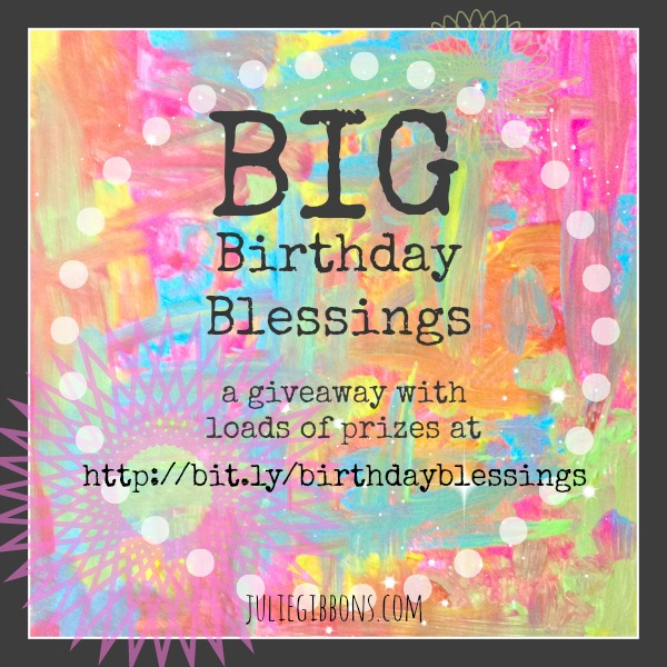 Big Birthday Blessings Giveaway