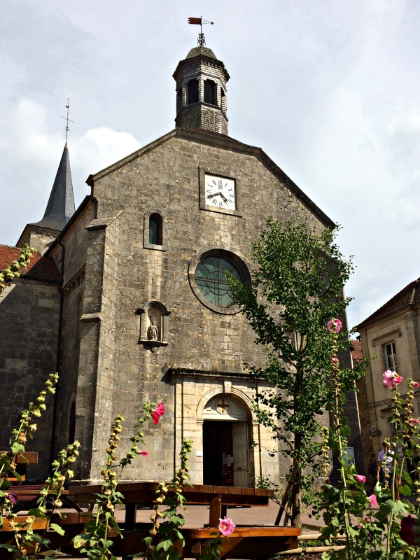 Flavigny Eglise