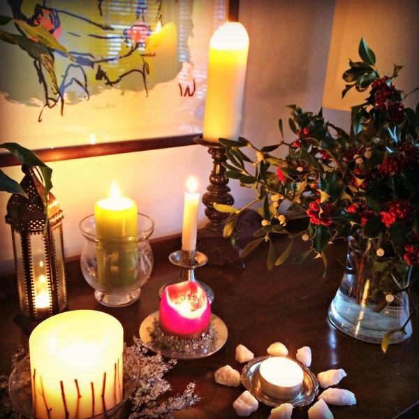 winter solstice light