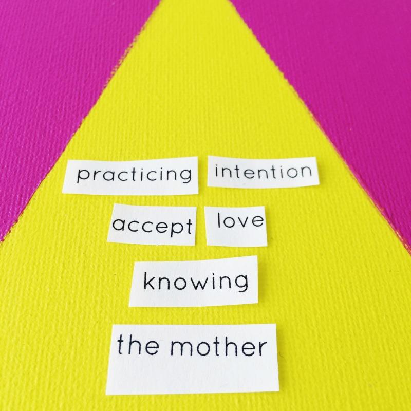 practicing intention mandala