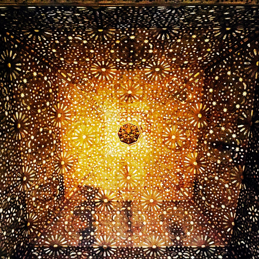 Ceiling of Stars Nazrid Palaces Alhambra