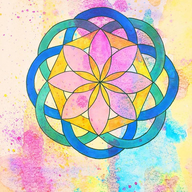 Translucent Octo Mandala image