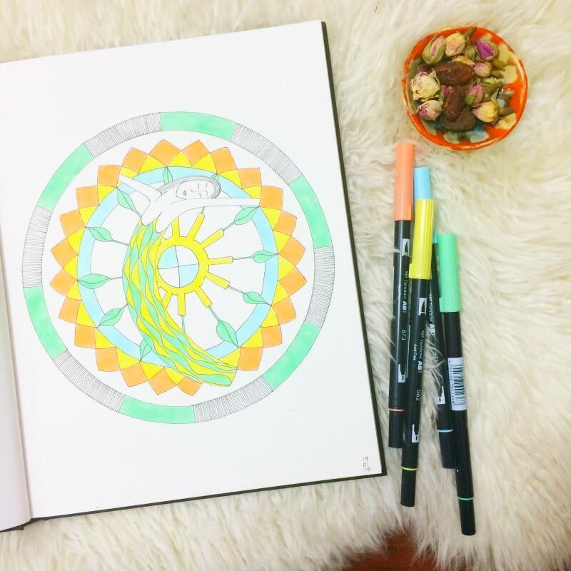 Solar Power Mandala