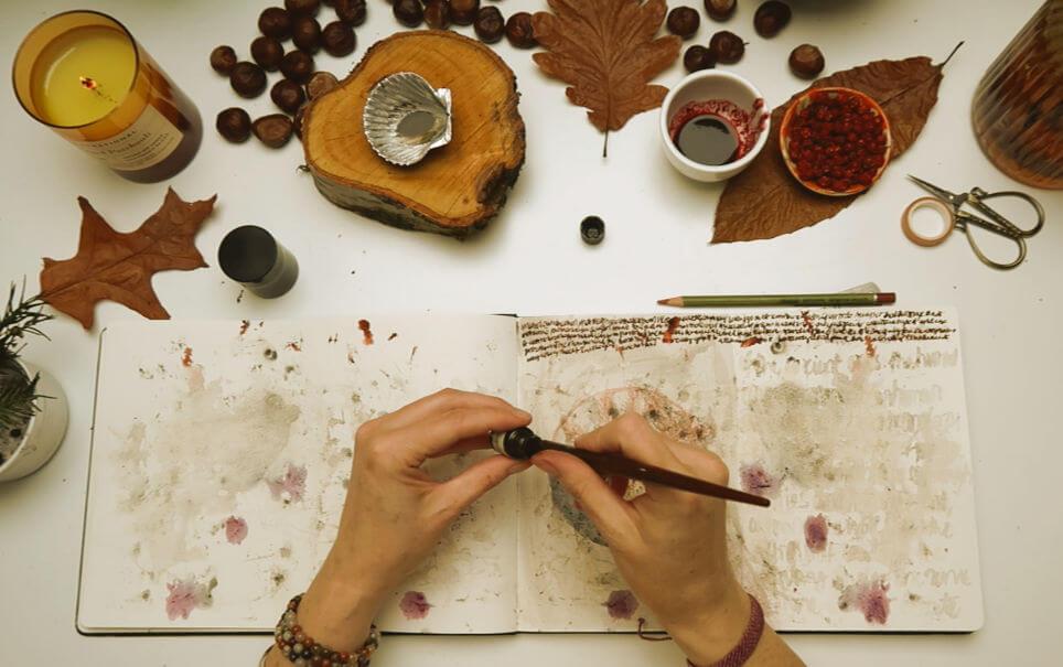 ASHES to ASHES : a guided art ritual at Samhuinn (Samhain)