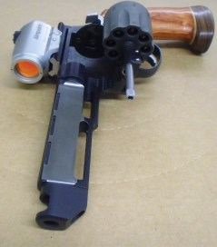 Smith & Wesson 627 V-comp Race Gun - Custom Work by Apex Tactical
