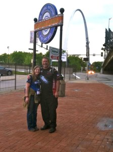 2012 NRA Annual Meeting - Rob Leatham & Me at the Arch