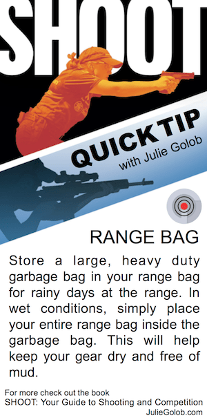 SHOOT Quick Tip - Range Bag
