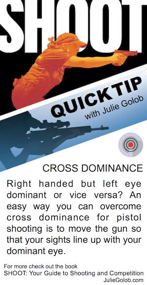 SHOOT Tip - Cross Dominance