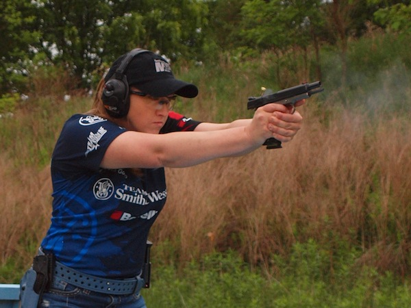 2012 USPSA Single Stack National Ladies National Champion - Julie Golob. Photo Courtesy of Paul Hyland