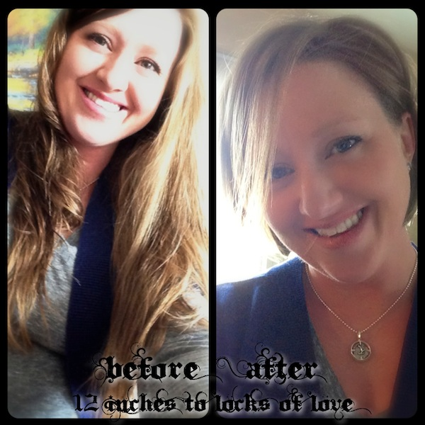 Locks of Love - Before & After