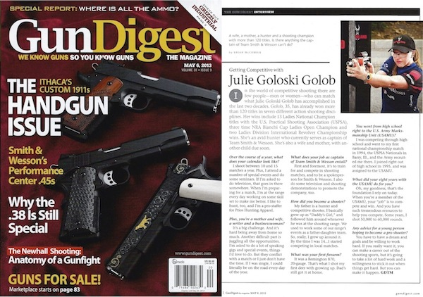 Getting Competitive with Julie Golob - Gun Digest