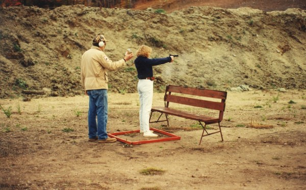 When I started, an entire shooting community was proud to see me shoot like a girl.