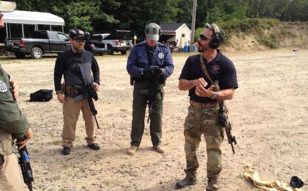 #SHOOTFIT - Jeff Gonzales teaching on the range