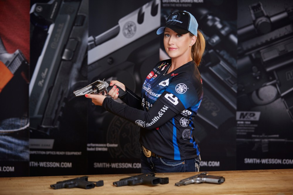 Julie Golob, Love at First Shot. Photo by Michael Ives, NRA News.