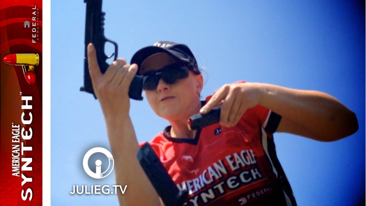 Julie Golob's 1000 Rd. Federal Premium Syntech Test