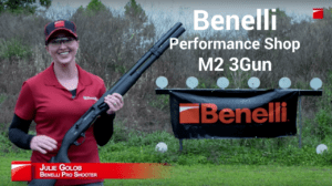 Julie Golob Benelli Performance Shop M2 3Gun